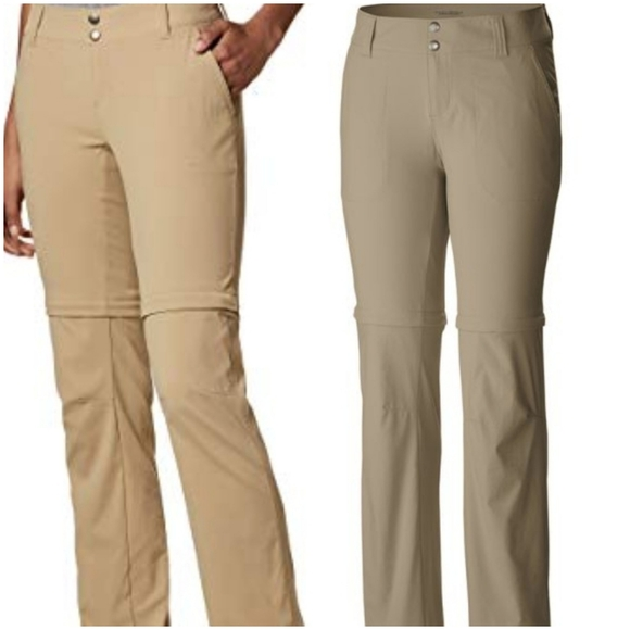 Water /& Stain Resistant Columbia Womens Saturday Trail II Convertible Pant